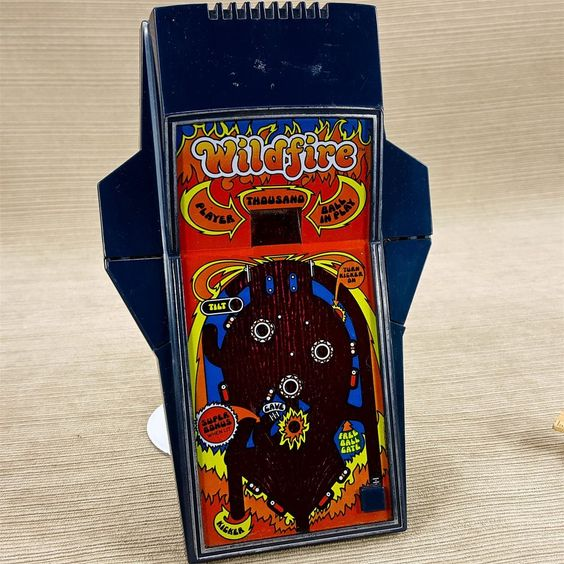 wildfire pinball by parker brothers - 1979
