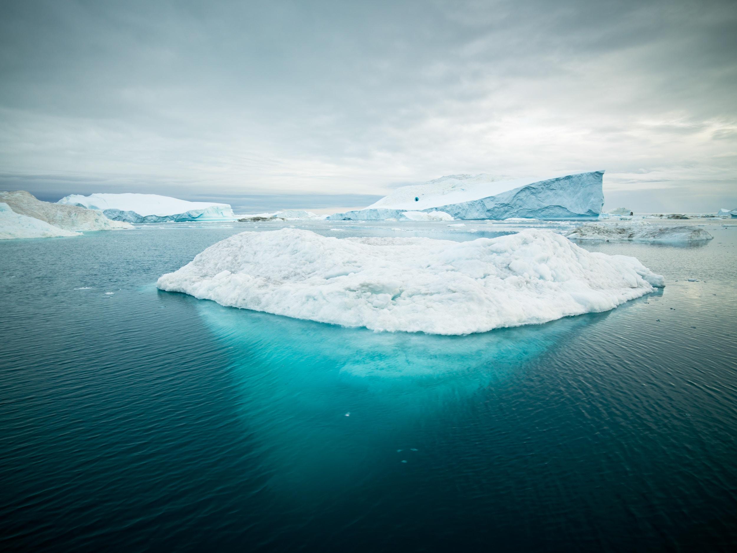 iceberg natural phenomenon