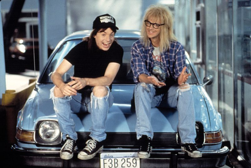 snl movies waynes world