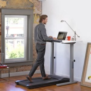 standing desk exercise