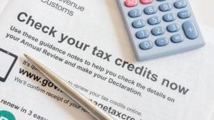 Tax Credits - tax filling mistake