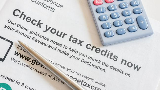 Tax Credits - tax filing mistake