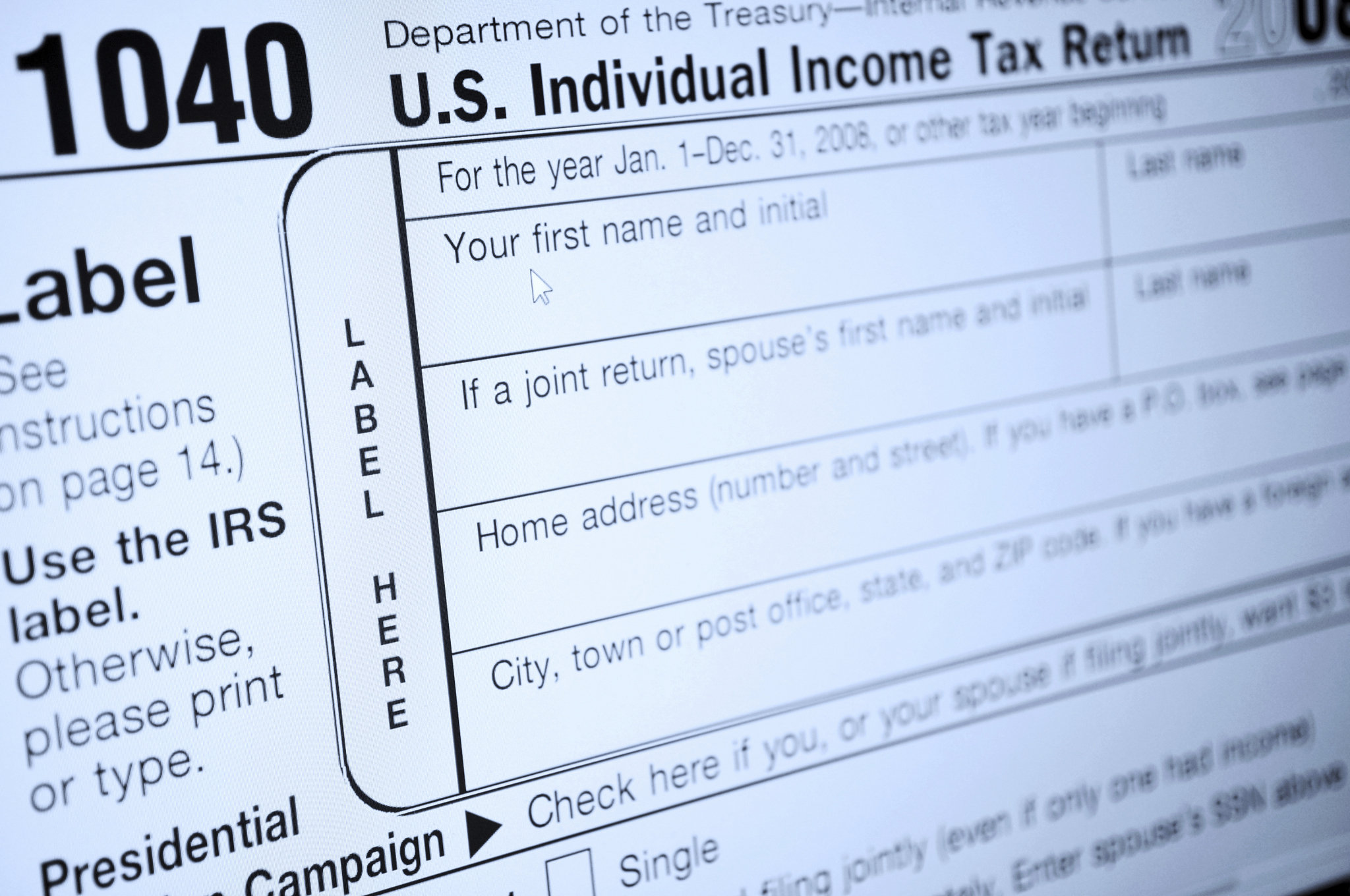 tax filing mistake - Social Security Number