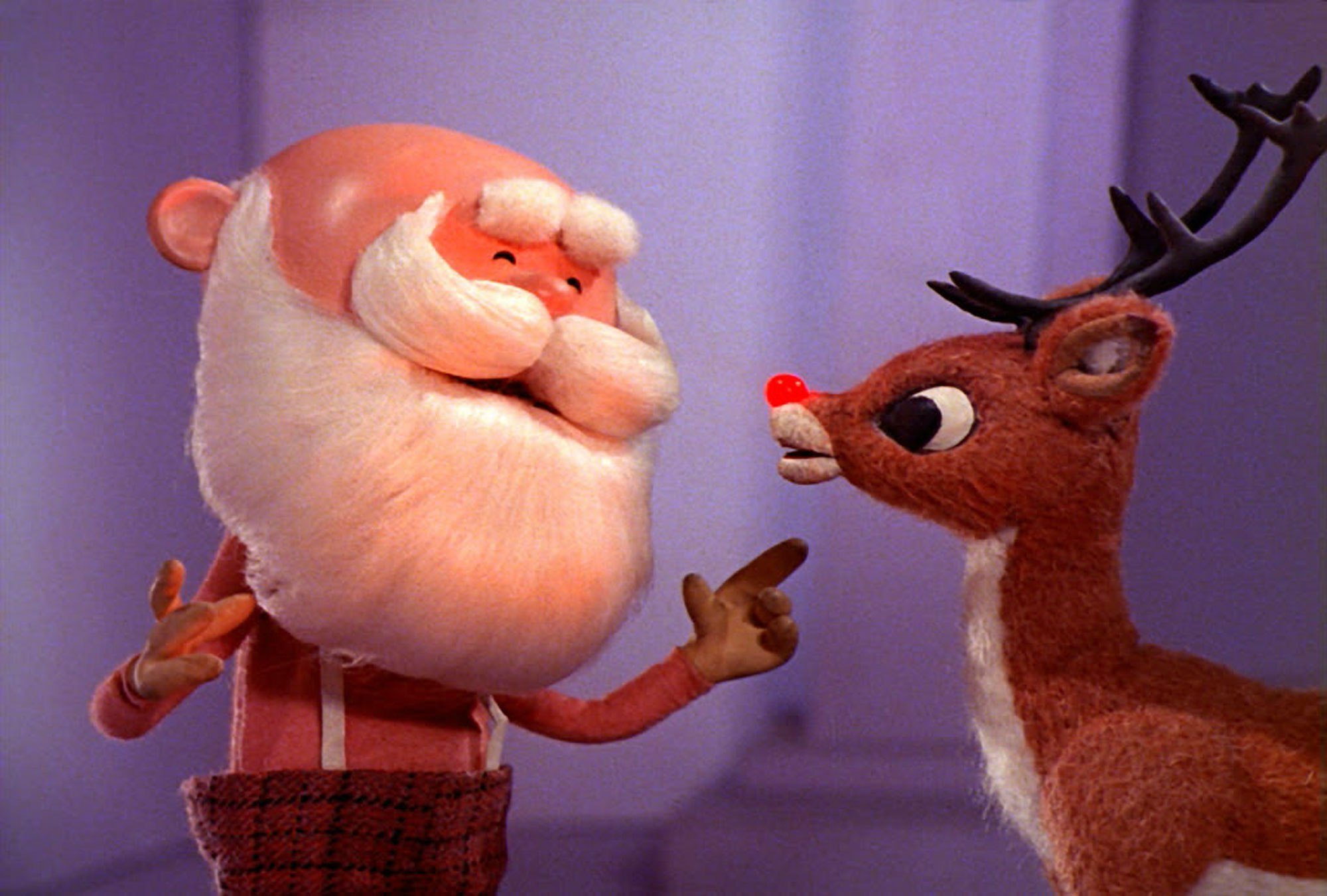 "Rudolph the reindeer with the red nose ""width ="" 2000 ""height ="" 1350"