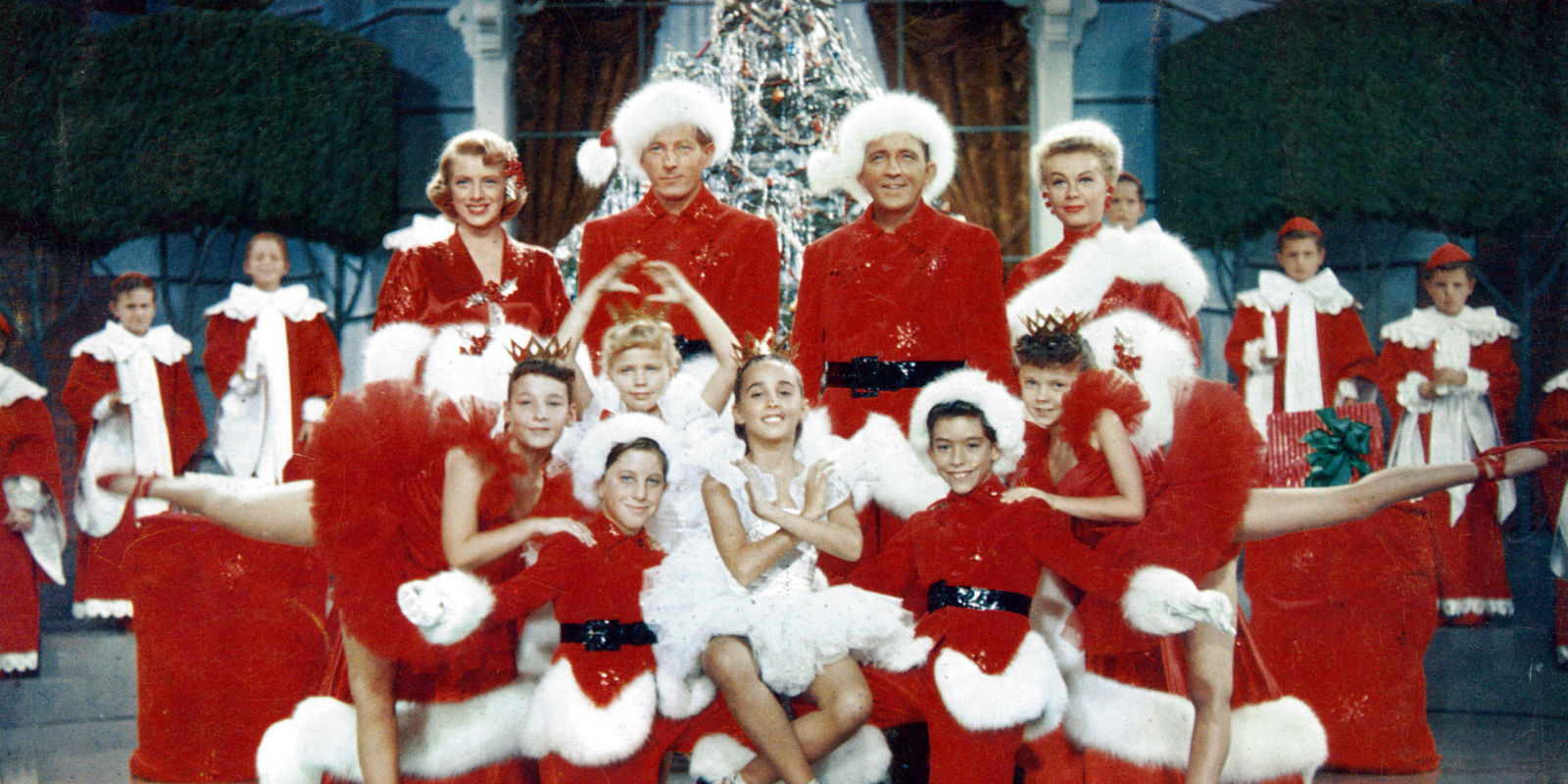 White Christmas christmas song cast