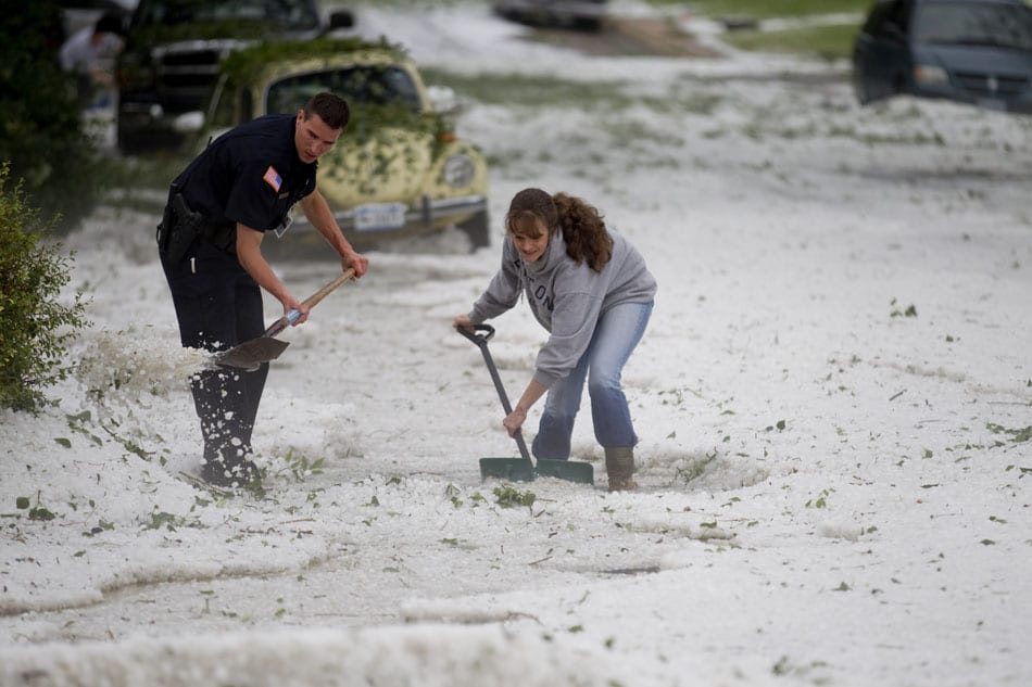 The Top 5 Places That Experience the Most Hail in One Year