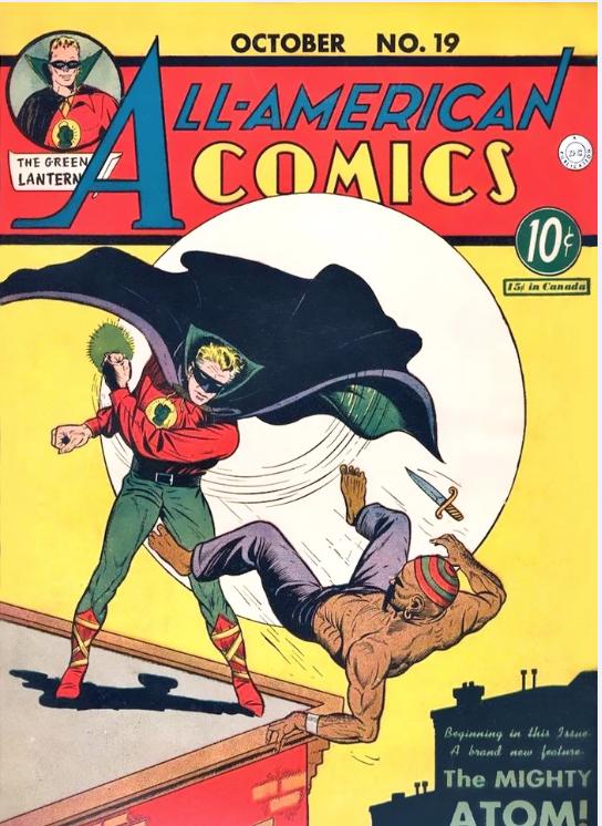 all american comics #19