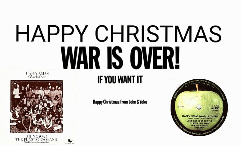 "Merry Christmas War is one of John Lennon's best Christmas carols & The Plastic Ono Band ""width ="" 800 ""height ="" 484"
