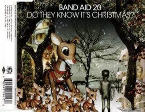 "The Band Air re-released version of 'Do they Know It's Xmas"" is still one of the best Xmas songs of all time"