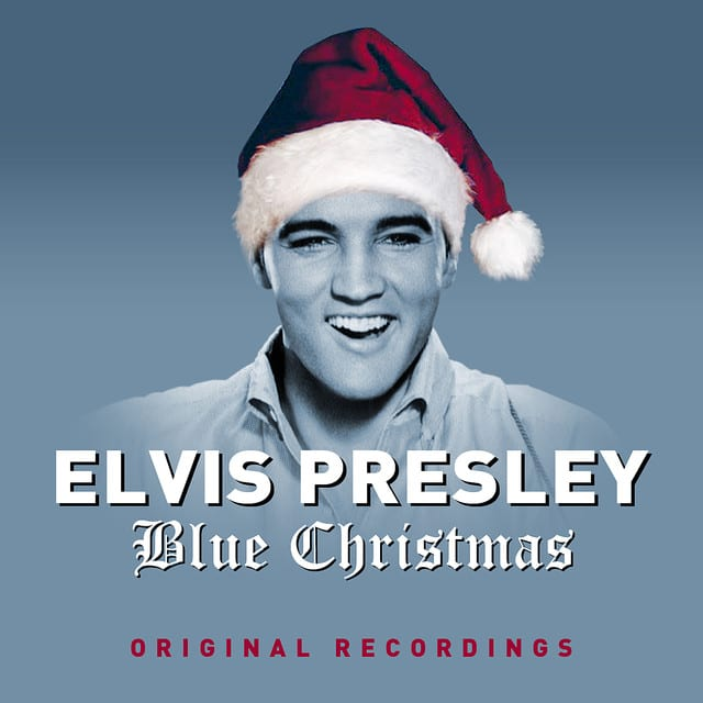 "Elvis Presley country version of ""Blue Christmas"" became one of the best Christmas songs of all time ""width ="" 640 ""height ="" 640"