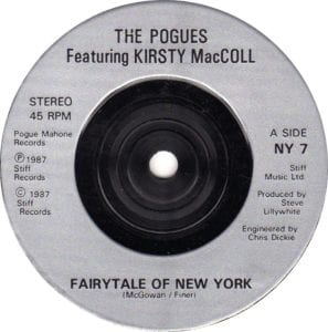 Fairytale of Newyork was a Xmas hit in the late 80s and has remained one of the best chistmas songs of all time