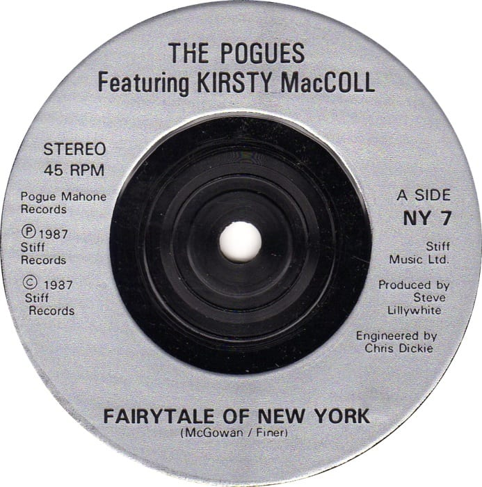 "Fairytale of New York was a Christmas hit in the late '80s and is one of the best Christmas carols of all times remained. ""Width ="" 693 ""height ="" 700"