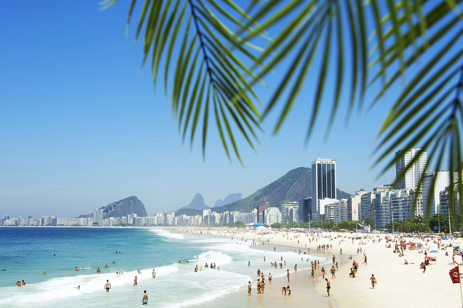 Copacabana Beach - This beach is one of the deadliest beaches in the worl because of the rate of petty crime in the area