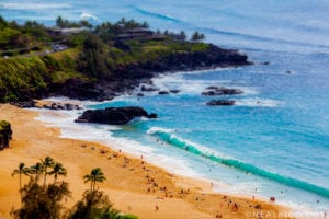 The waves of beaches in North of Oahu makes the beaches one of the deadliest beaches in the world