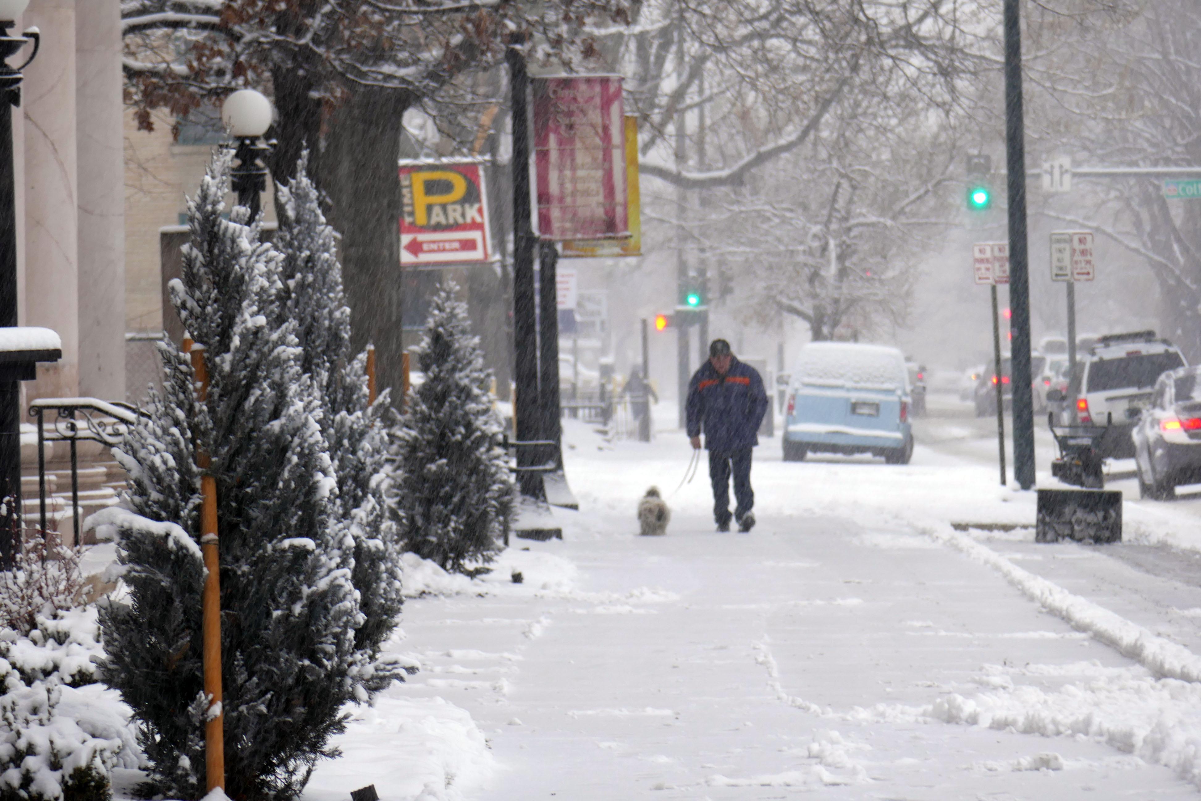 Denver is a snowy city