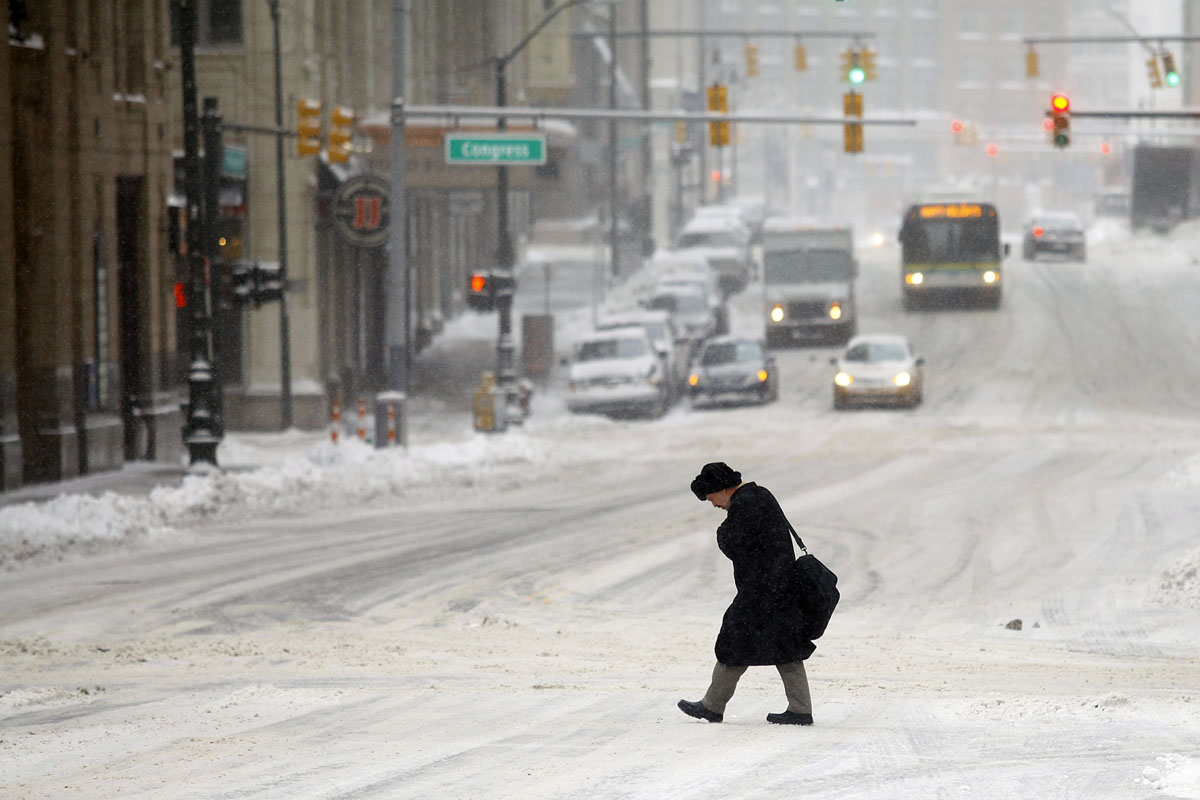 Detriot is one of the snowiest cities