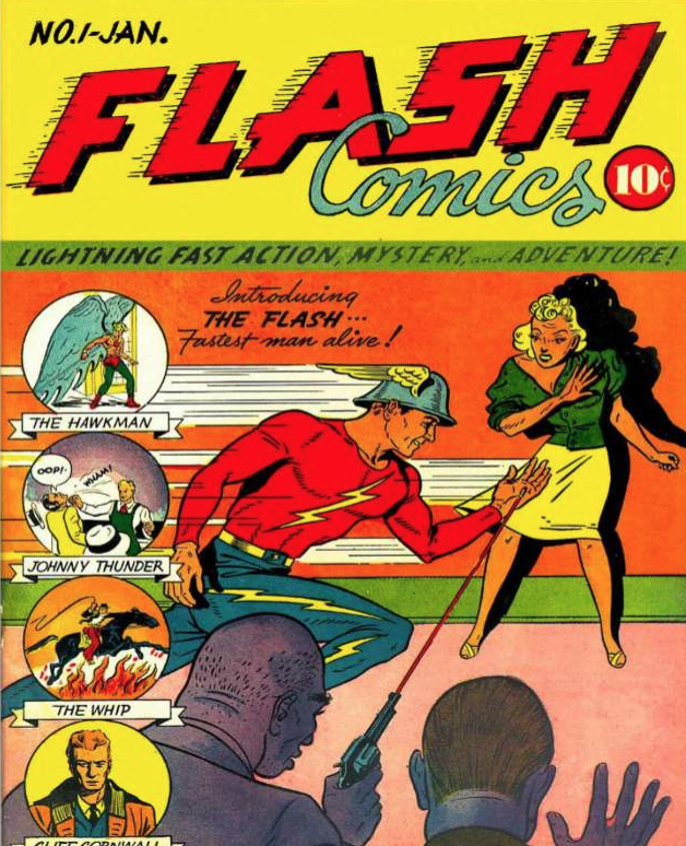 flash comics #1