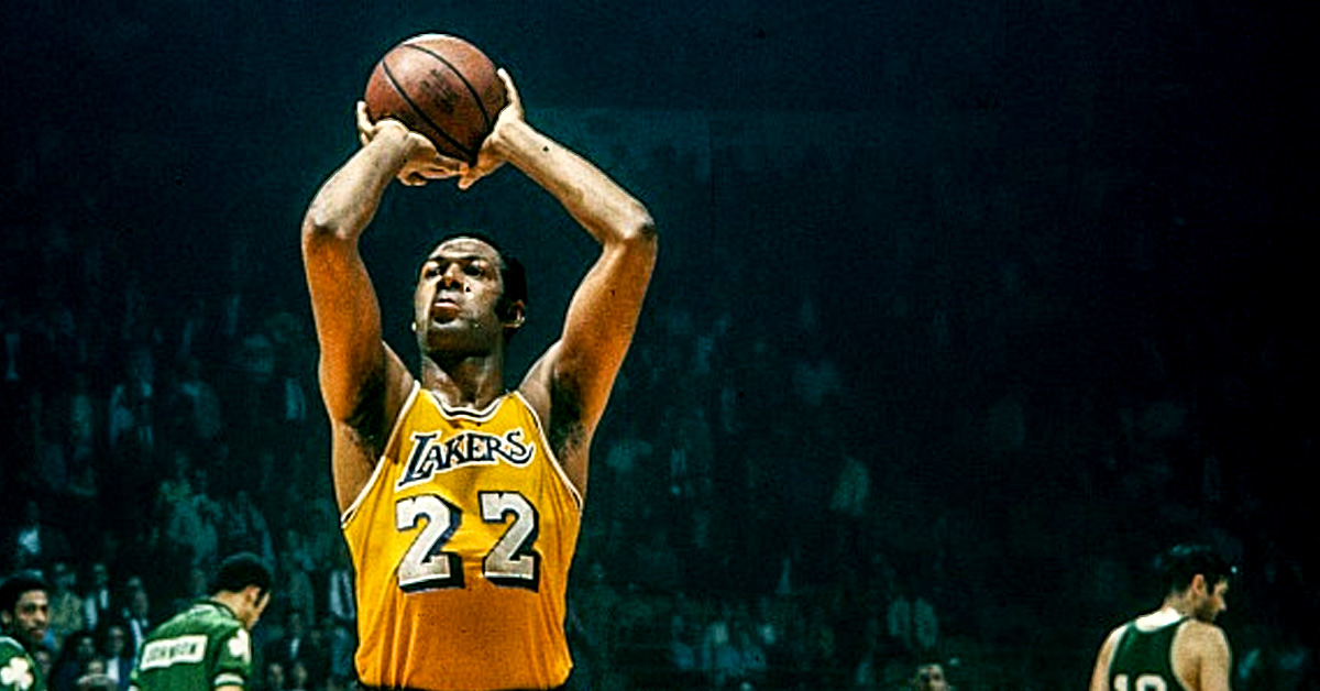 Elgin Baylor for the Lakers - He is known for scoring a record 71-points in a single game in the 1960 making him one of the highest scoring players in the NBA