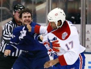 hockey penalties roughing