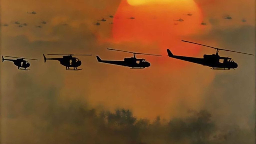 """Apocalypse Now"" — Helicopter Attack"