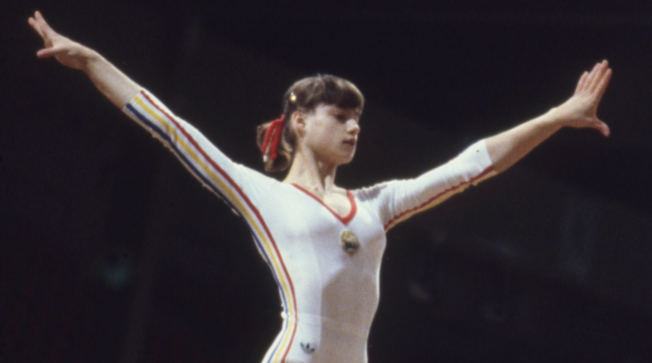 Nadia Comaneci is one of the youngest adolescent record setters in Gymnastics