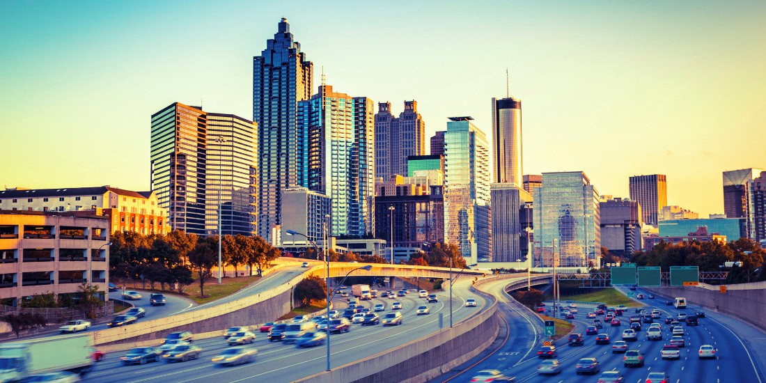 atlanta best cities for singles