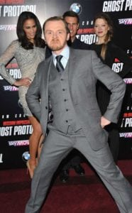 Simon Pegg photobombing at Mission Impossible Premiere is one celebrity photobom you would absolutely love