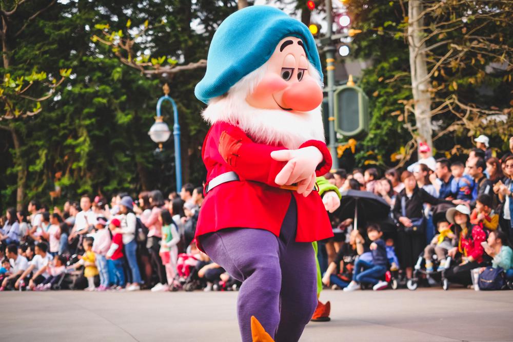disneyland and parade show
