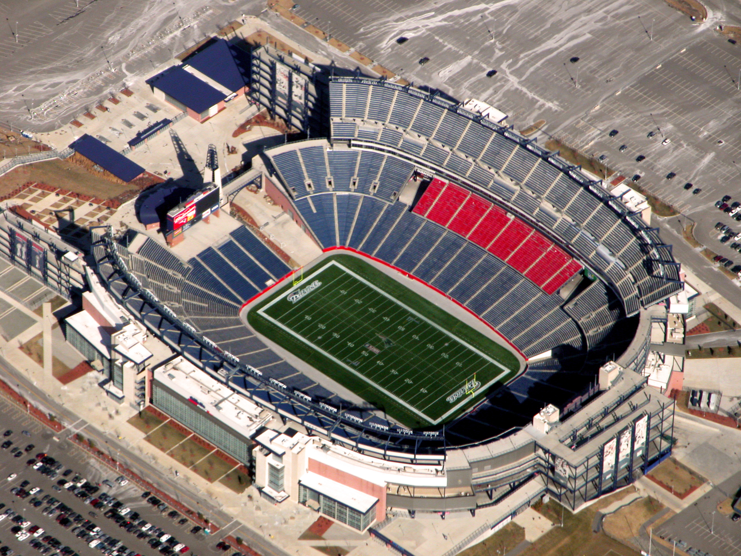gillette stadium is oneof the most valuable pieces