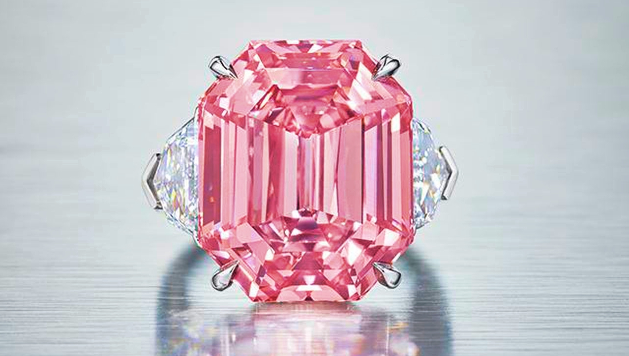 HARRY WINSTON PINK RING