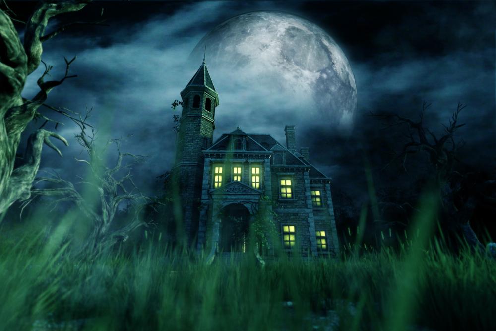 haunted house,