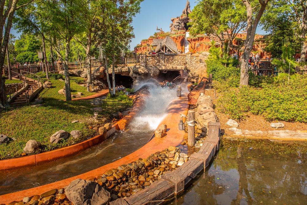 Orlando Florida Splash Mountain at Disney's Magic Kingdom