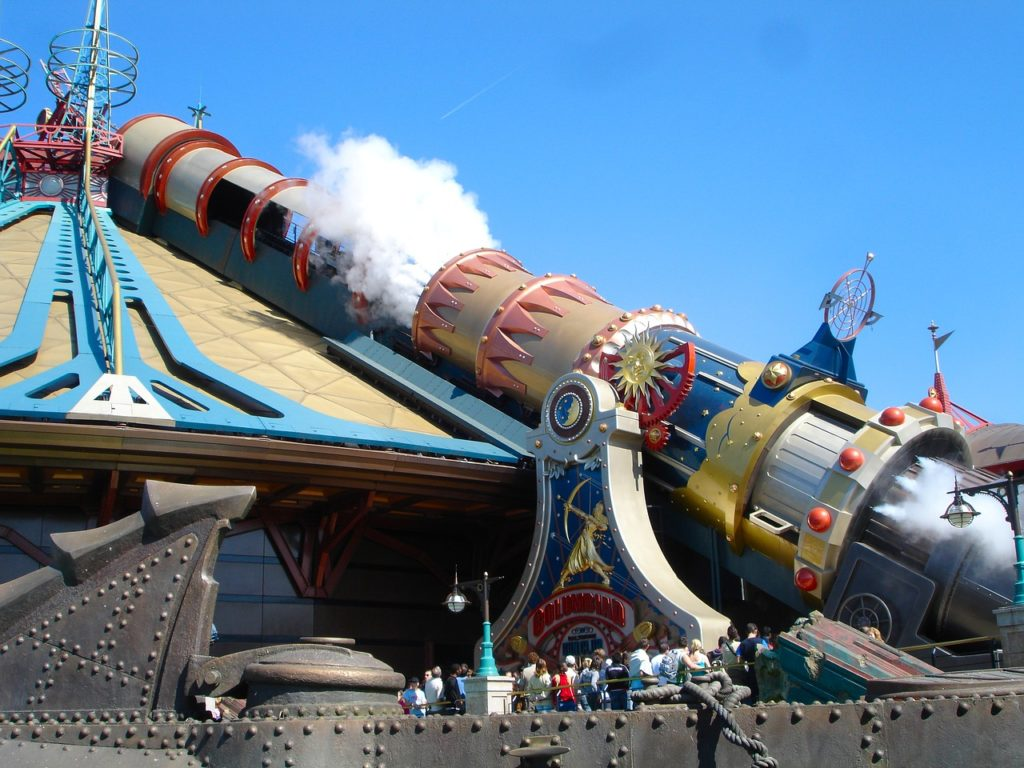 space moutain disneyland