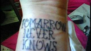 Tattoo Spelling Mistake