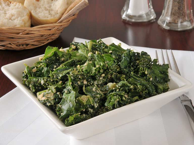 veggies kale