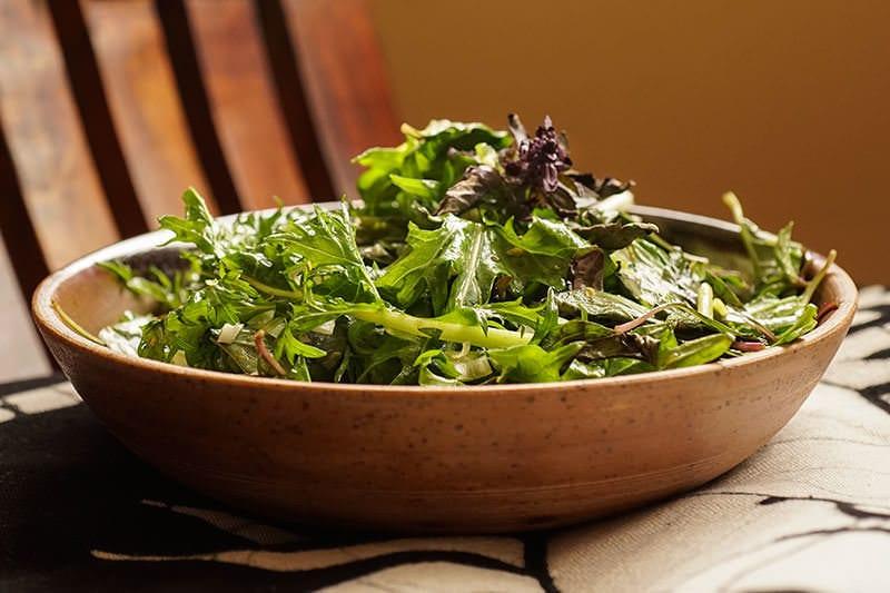 veggies mizuna