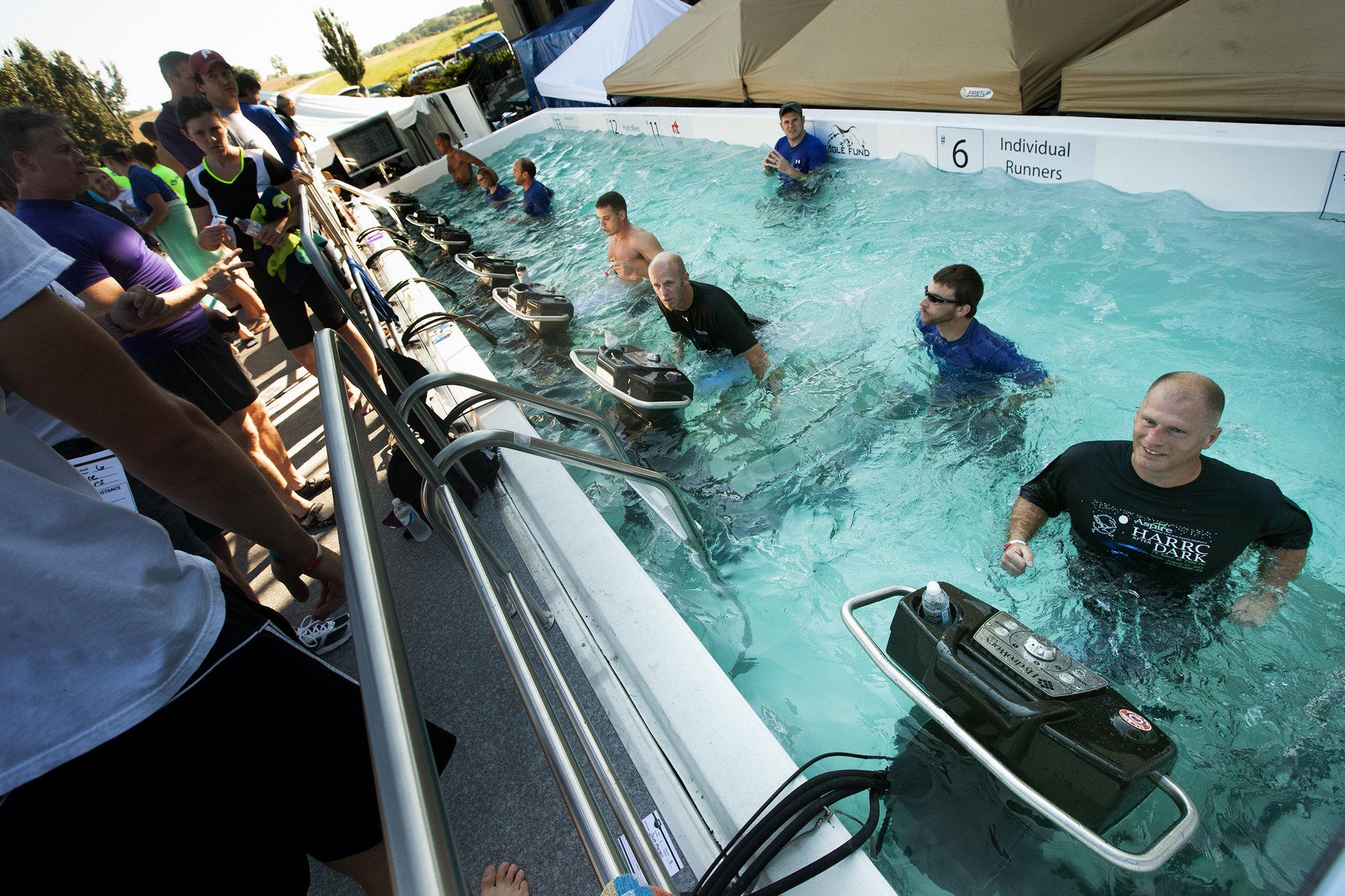weird 5k runs - HydroWorx Underwater Marathon