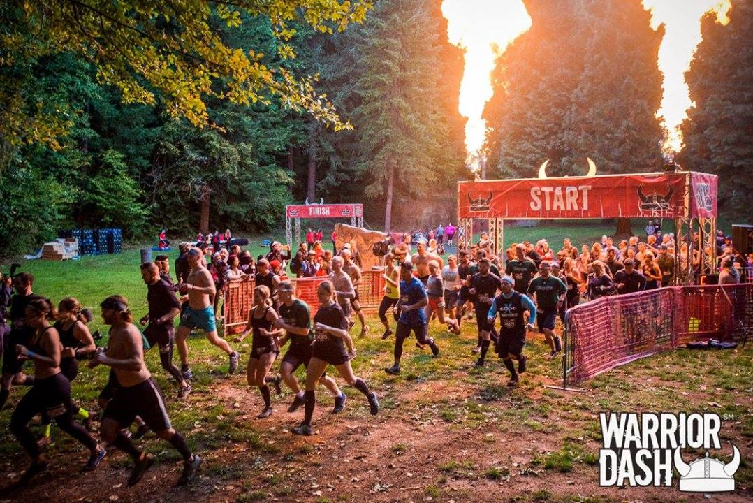 weird 5k runs - Warrior Dash