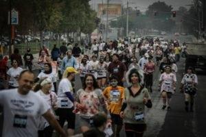 weird 5k runs - Running from Zombie
