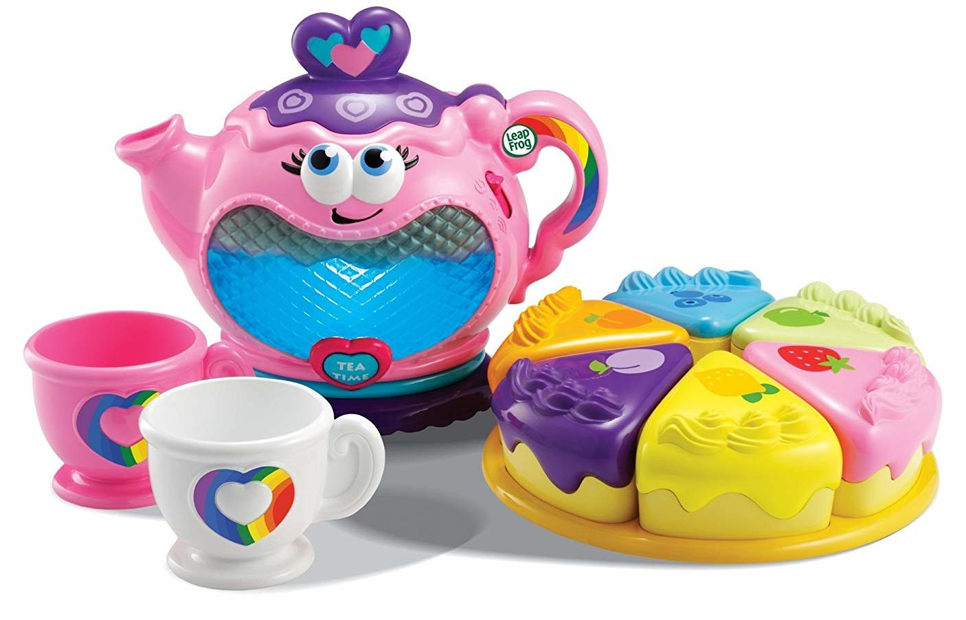 """Best Toys For One Year Rainbow Tea Party """"width ="""" 400 """"height ="""" 257 """"srcset ="""" https: // www.top5.com/wp-content/uploads/2013/06/best-toys-for-aone-old-rainbow-tea-party-e1557253817799.jpg 1406w, https://www.top5.com/wp-content /uploads/2013/06/best-toys-for-a-one-old-rainbow-tea-party-e1557253817799-300x193.jpg 300w, https: // www. top5.com/wp-content/uploads/2013/06/best-toys-for-aone-year-old-rainbow-tea-party-e155725 3817799-768x493.jpg 768w, https://www.top5.com/ wp-content / uploads / 2013/06 / best-toys-for-a-one-old-rainbow-tea-party-e1557253817799-1024x658 .jpg 1024w """"Sizes ="""" (max width: 400px) 100VW, 400PX [19659069] Amazon </p> </div> <p>  It's tea time. </p> </div> <p>  This 10-piece musical tea party promises good learning times, new words and a great time. It teaches more than 50 phrases and tones as well as 7 Tea-Time learning songs. Your child will not only make Mr. Teddy Bear the best tea he has ever tasted, but he will also learn how to understand colors and matches, counting, manners and greetings. </p> <p>  The teapot lights in six colors and can be opened revealing a shiny mirror. </p> <p> <span class="""