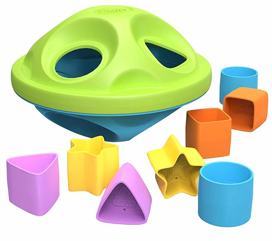 best toys for a one-year-old shape sorter