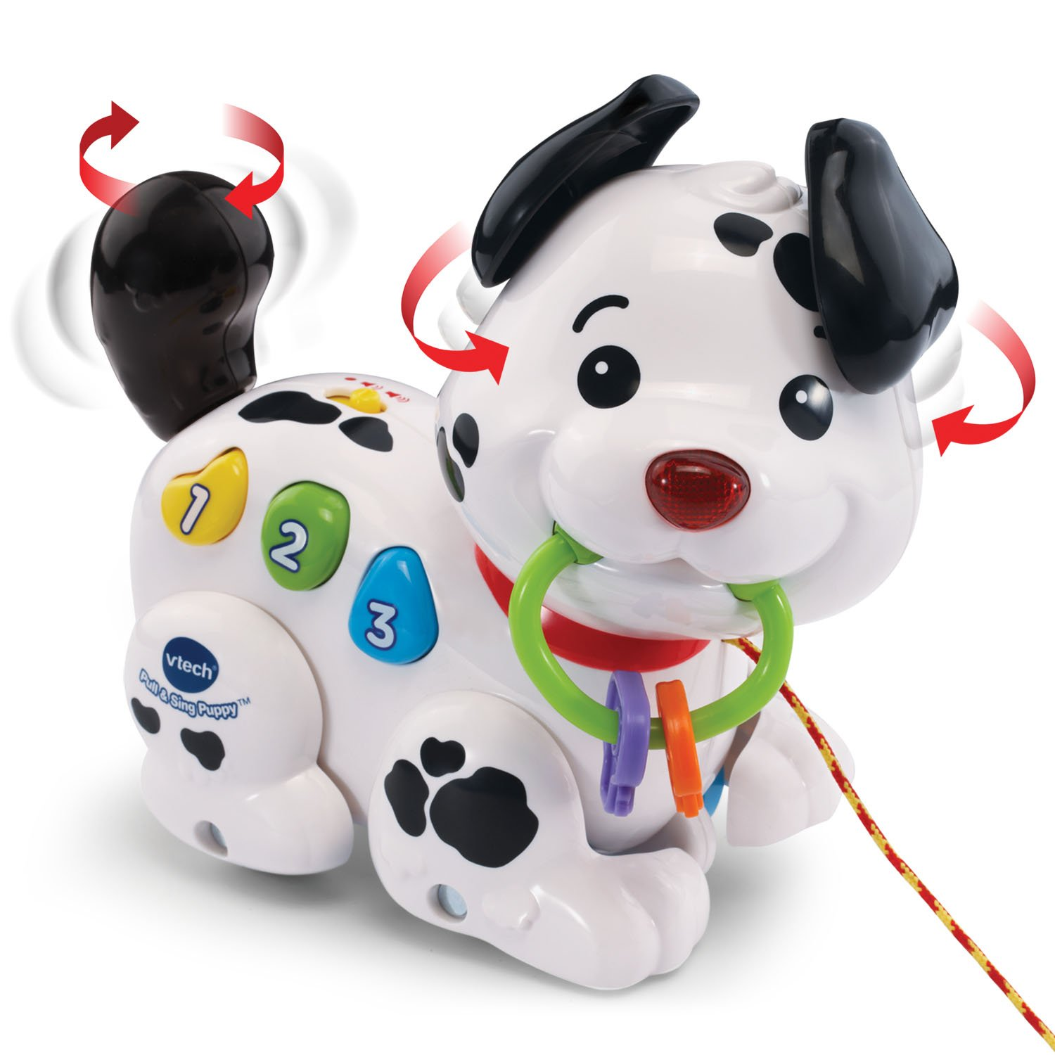 best toys for a one-year-old sing puppy