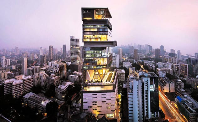 biggest houses in the world antilia