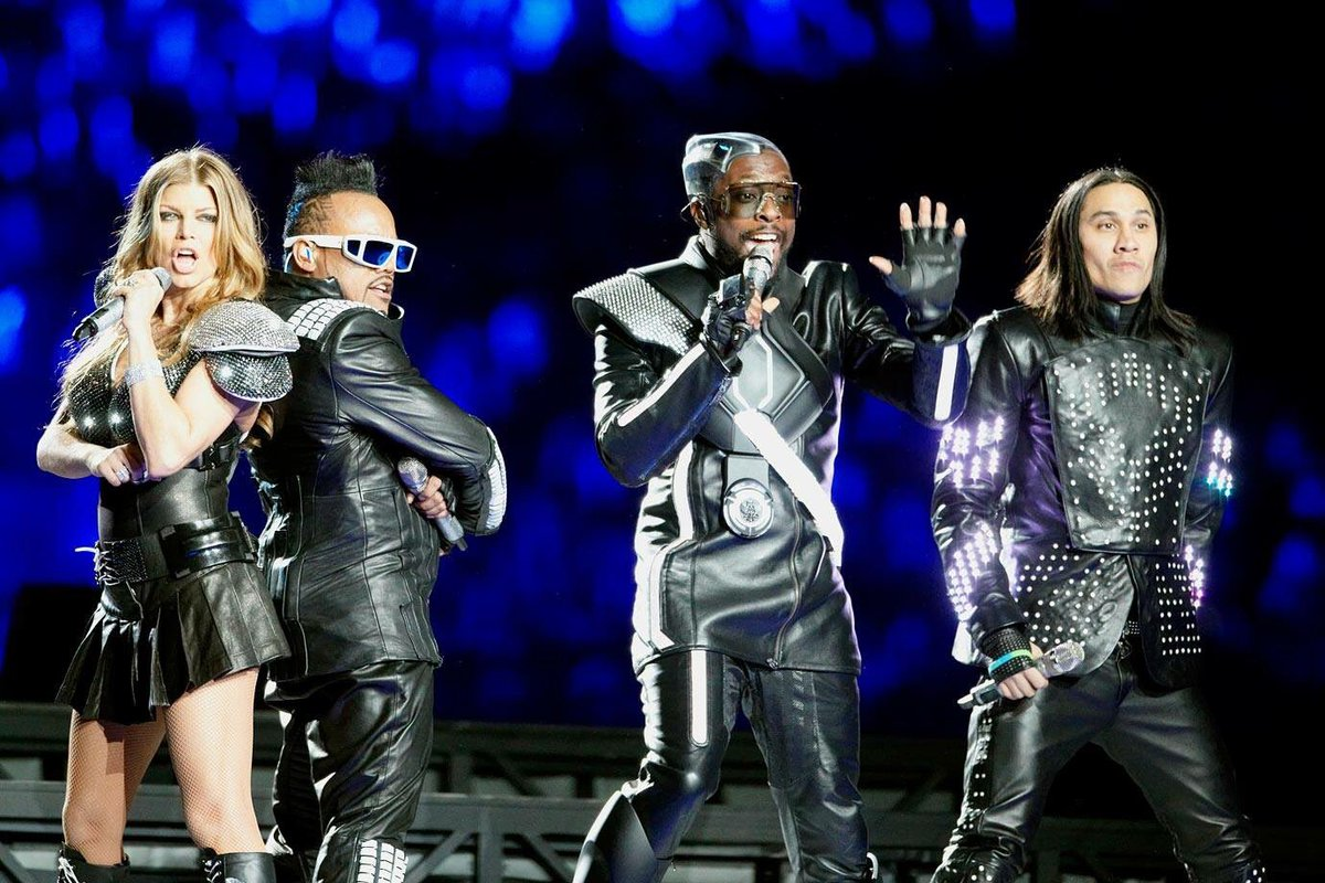 Black eyed peas had one of the most disappointing shows at the Super Bowl