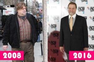 John Goodman - celebrity weight loss