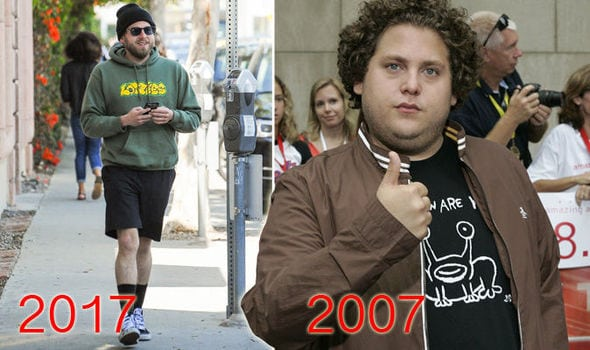 Jonah Hill celeb weight loss