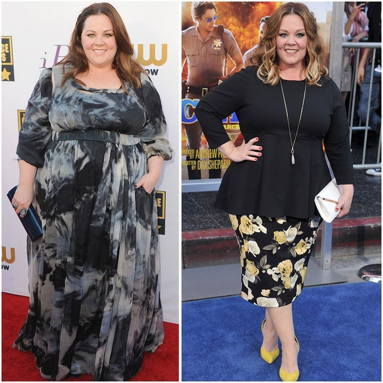 Melissa McCarthy - celeb weight loss