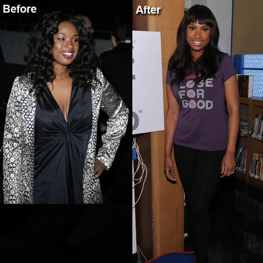 Jenifer Hudson celeb weight loss
