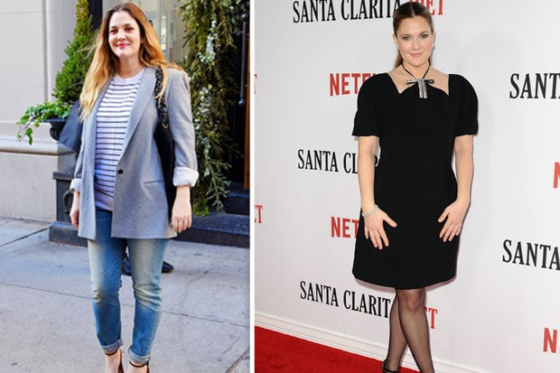 Drew BarryMore - Celeb weight loss
