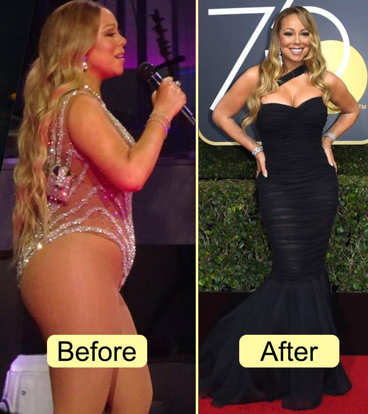 Mariah Carey - celeb weight loss